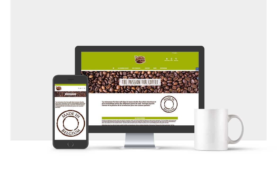 SITE E-COMMERCE GROSSISTE CAFE